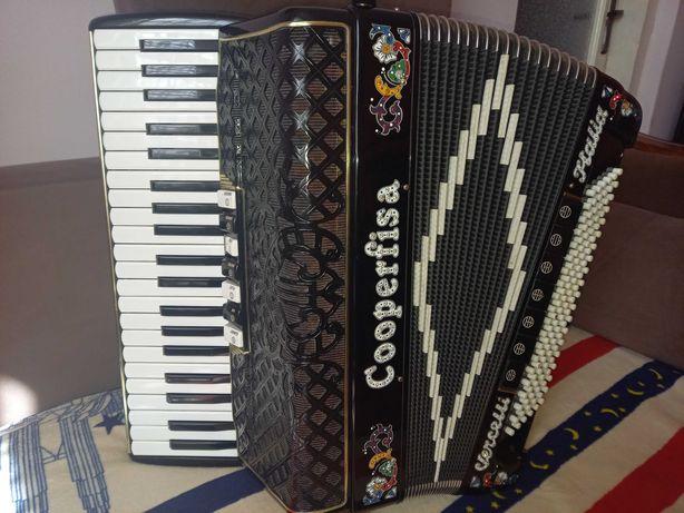 Akordeon COOPERFISA 120 basów