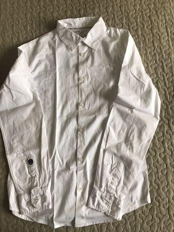 Біленька коттонова сорочка