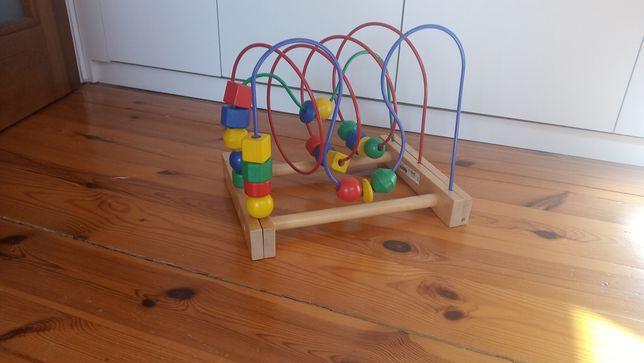 Zabawka przeplatanka mula IKEA