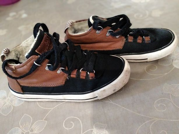 Ботинки на меху,хайтопы Zara