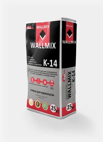 Еластичний клей для плитки грес, клей для плитки тепла підлога WALLMIX