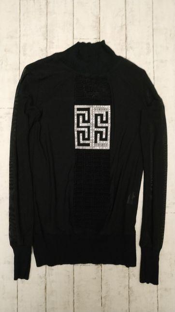 Гольф / водолазка / свитерок со стразами бренда Versace