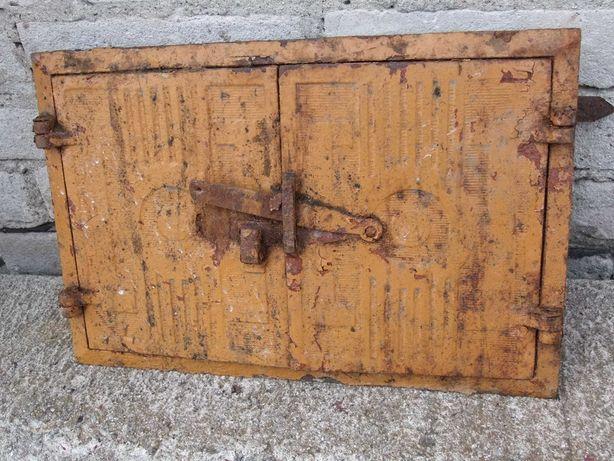 Drzwiczki z lat 50-tych grill wędzarnia