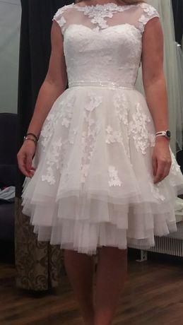 Suknia ślubna krótka cywilny