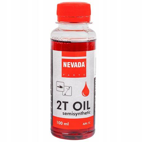 Olej do kosy piły spalinowej do silników 100ml (KOS24)