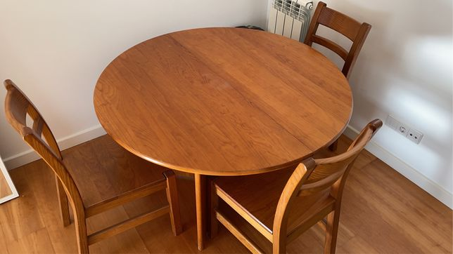 Mesa Jantar Cerne (+ 6 cadeiras)