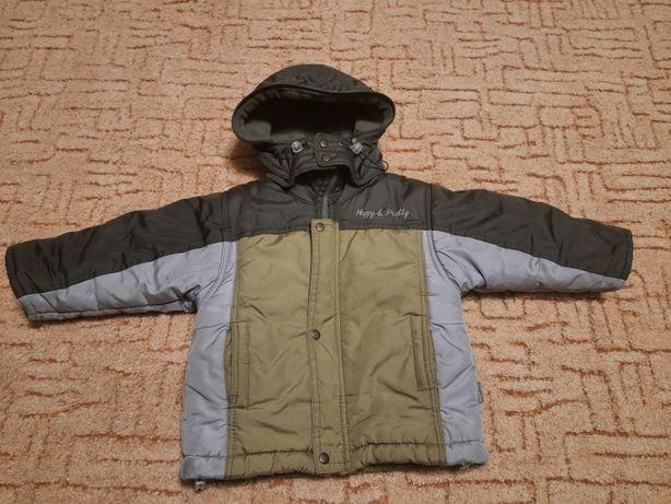 Зимова курточка для хлопчика