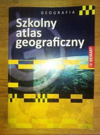Szkolny Atlas Geograficzny DEMART + gratis