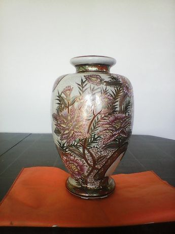 jarra porcelana desenho oriental
