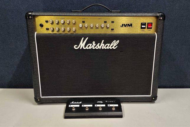Ламповий гітарний комбік Marshall JVM 205c + футсвіч