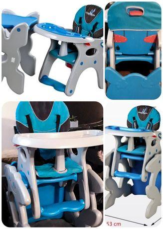 Caretero Primus fotelik, krzesełko do karmienia 3w1 stolik krzesło