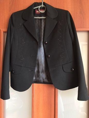 Пиджак девочке первоклашке, Милана, 122 рост