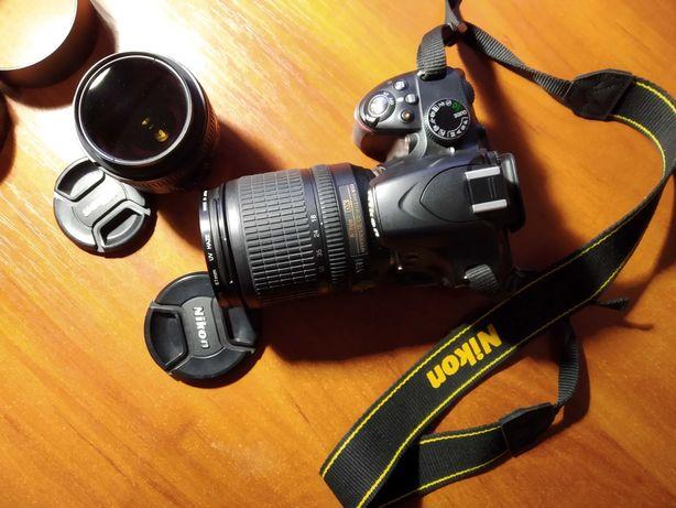Nikon D3200 + AF-S NIKKOR 50mm f/1,8G
