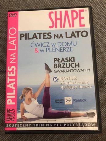 Ćwiczenia DVD pilates na lato SHAPE