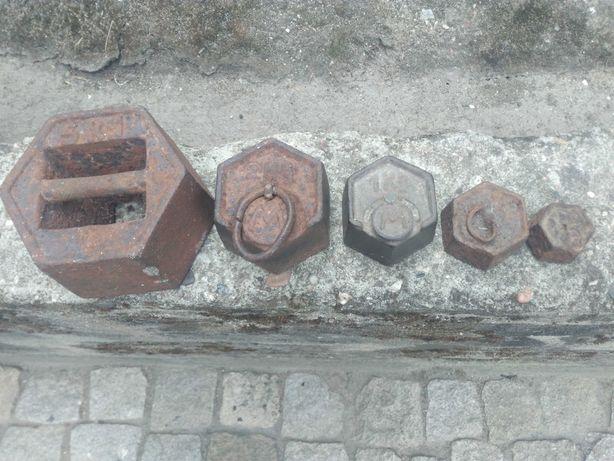 Pesos de balança antigos
