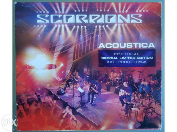 SCORPIONS - Acoustica (Edição Limitada, concerto gravado em Portugal)