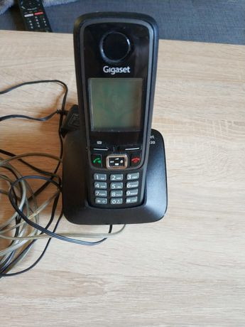 Telefon stacjonarny bezprzewodowy Simens Gigaset A420 czarny