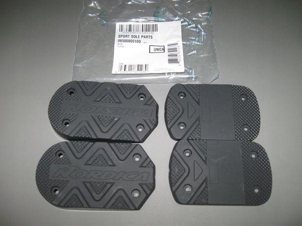 Piętki fleki podeszwy do butów narciarskich Nordica senior sole parts