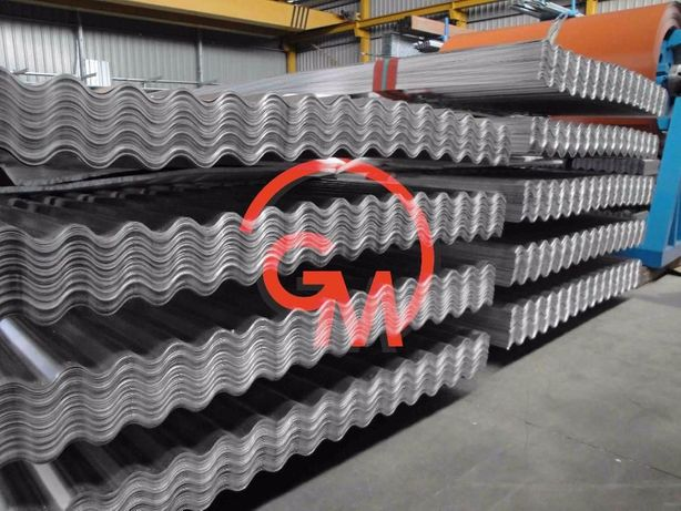 Chapa Ondulada Alumínio Natural