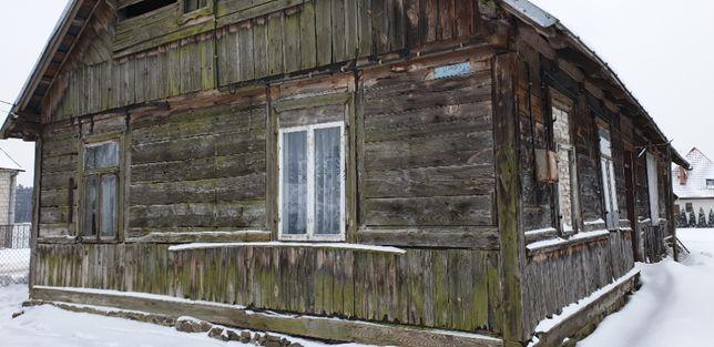 sprzedam drewniany dom z bala 8,5mx15,5m do rozbiórki bez działki