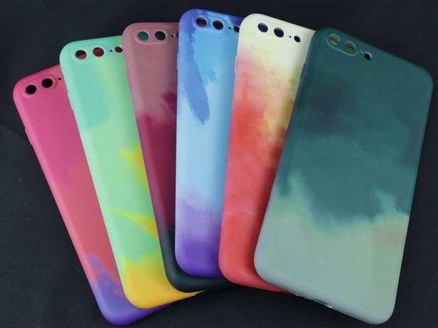 Capa iPhone 7 Plus / 8 Plus Gel Paint *Portes GRÁTIS!!