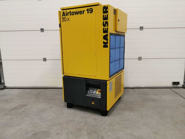 Sprężarka śrubowa KAESER 11kw kompresor 1900l/min +OSUSZACZ 8 bar