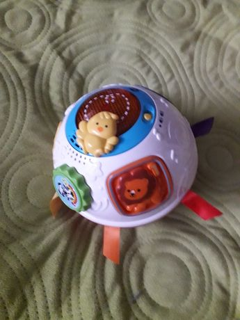 kula hula, trefl, zabawka niemowlęca, grzechotka, trefl, vtech