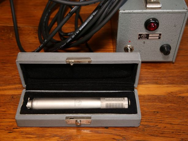 SCHOEPS Telefunken M221b mikrofon lampowy z kapsułą MK 26