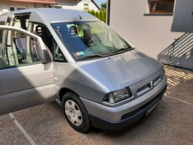 Citroen jumpy 6 osobowy rok prod 2003 pier rej 2004 salon Polska