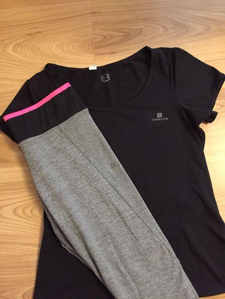 Zestaw na trening do cwiczeń koszuka i spodnie S