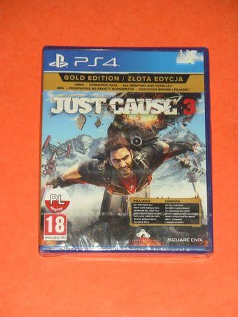 Just Cause 3 Gold Edition / Złota Edycja_nowa, zafoliowana gra na PS4