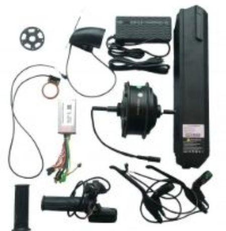 Электронабор, велонабор 500W/48V16Ah (LCD монитор, АКБ в корпусе)