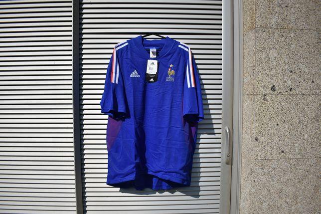 Camisola oficial da França (Mundial 2002)