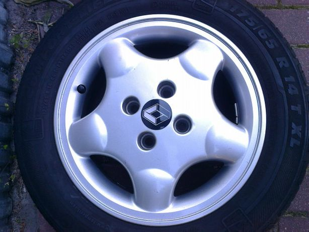 felgi aluminiowe 4x100, 14 Renault, Toyota,Hond, Nissan, Mazda 5,5J 14