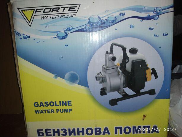 Мото помпа бензинова производительность 8куб. В час