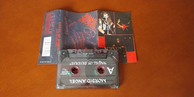 MORBID ANGEL - ANGEL OF DISEASE (Live In Holland 1992) kaseta
