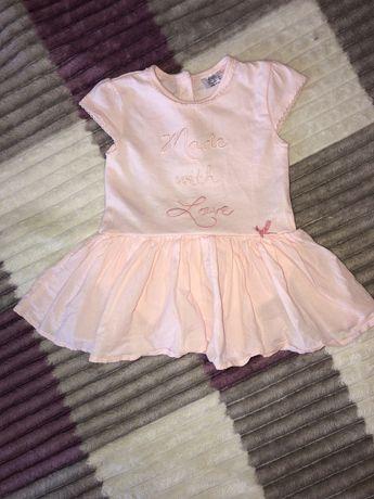 Платье боди для малышки