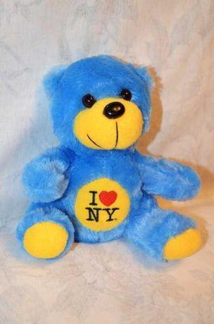 Голубой мишка I love NY