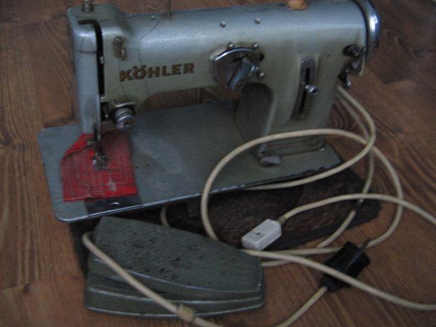 Maszyna do szycia Kohler metalowa, sprawna gratis akcesoria krawieckie