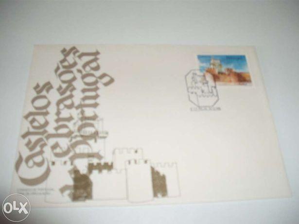 Selos - Filatelia - Sobrescrito de 1º dia