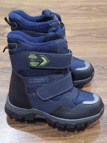 Зимние ботинки, термоботинки на мальчика 32-37