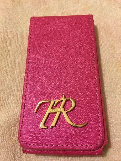 Чехол-раскладушка для мобильного, розового цвета, новый