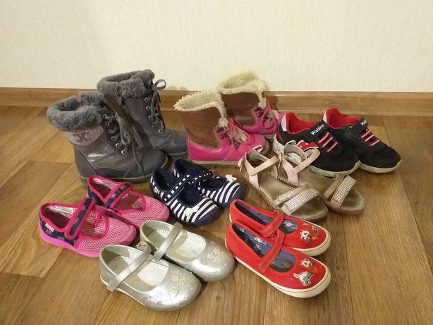 Обувь, кеды, кроссовки для девочки 27р.