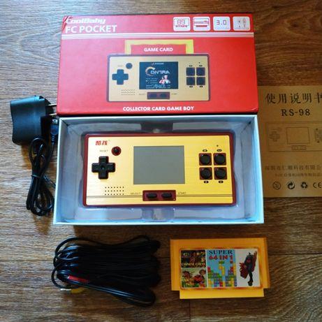 Портативная консоль CoolBaby с поддержкой картриджей Famicom/Dendy
