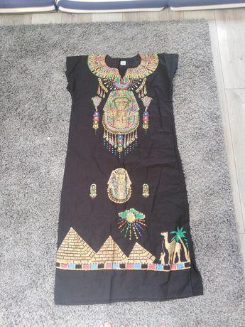 Nowy strój przebranie egipski Kleopatra r uniwersalny z Egiptu