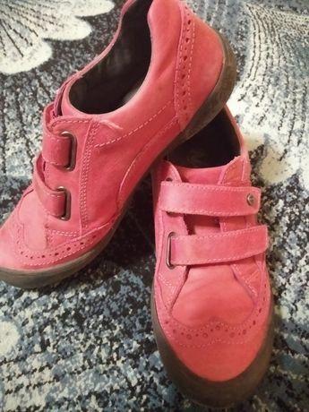 Кожаные туфли кроссовки фирмы на осень Naturino Bartek Ecco 33 р 21 см