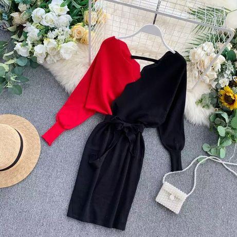 Sukienka nowa 40/42 żywe kolory
