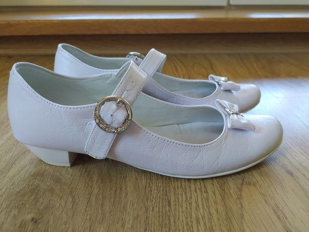 pantofelki komunijne baleriny miko 37