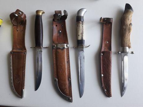 nóż  finki myśliwskie kolekcjonerskie