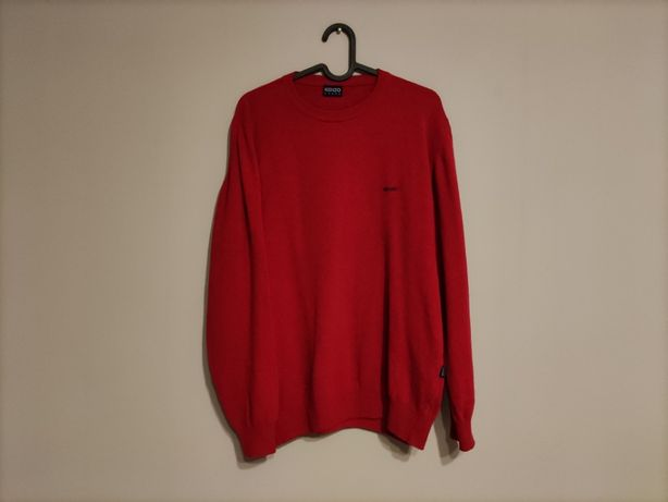Sweter Wełniany Vintage KENZO Homme Slim Made In Italy